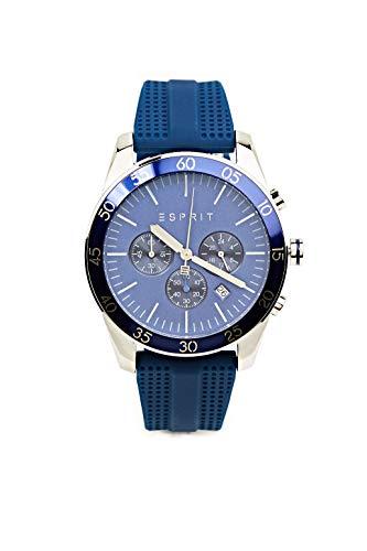 Esprit Jordan D. Blue ES1G204P0045 - Reloj de pulsera para hombre (correa...