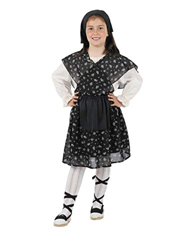 DISBACANAL Disfraz castañera Flores Infantil - -, 12 Meses