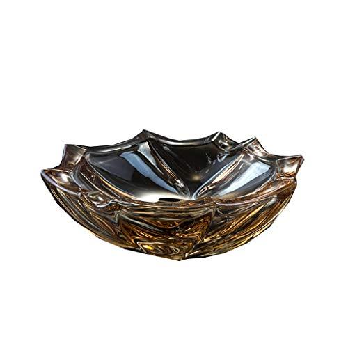 D-HOME Cendrier Antique Ouverture Crack Glaze personnalit/é cr/éative cendrier en c/éramique d/écoration de la Maison Chinoise Salon d/écoration Cadeaux Artisanat cendrier Couleur : Rose