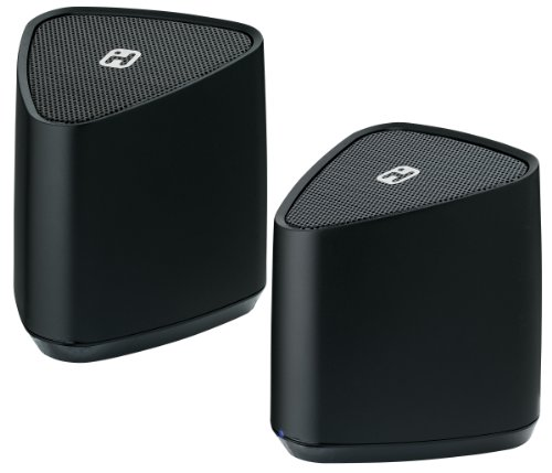 iHome iBT88 - Altavoces portátiles (2.0, Inalámbrico y alámbrico, Bluetooth/3.5 mm, Bluetooth,...