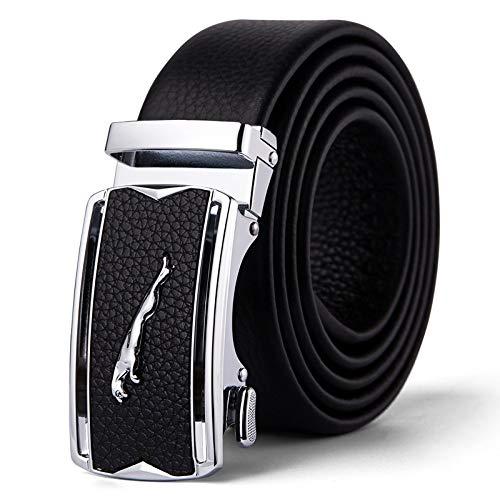 Xme Cinturón de cuero para hombres, caja de regalo para cinturón de moda para hombres, cinturón de regalo para hombres