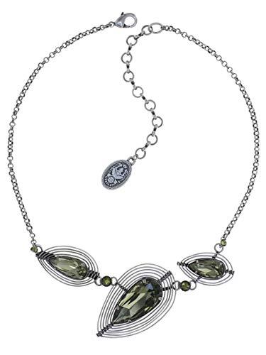 Konplott Kette Amazonia - green - antique silver