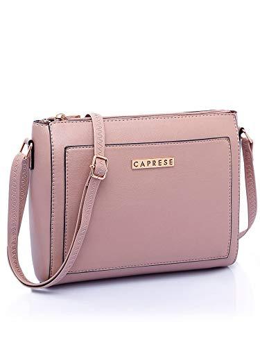 Best Caprese Edna Women's Sling Bag (Dusty Pink)