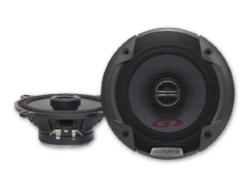 Alpine SPG-13C2 Altavoz Audio - Altavoces para Coche (De 2 vías, 82-20000 Hz, Neodimio, Ferrita)