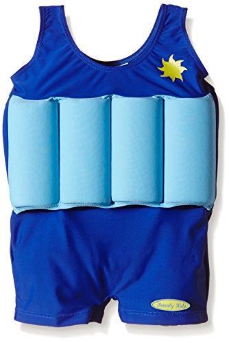 Beverly Kids Mädchen Madame de Pompadour Uv-bojenbadeanzug, Blau, 116