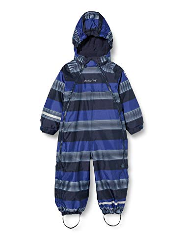 MINYMO Snowsuit Oxford Combinaison de Ski, Bleu Placid, 80 cm Mixte Enfant