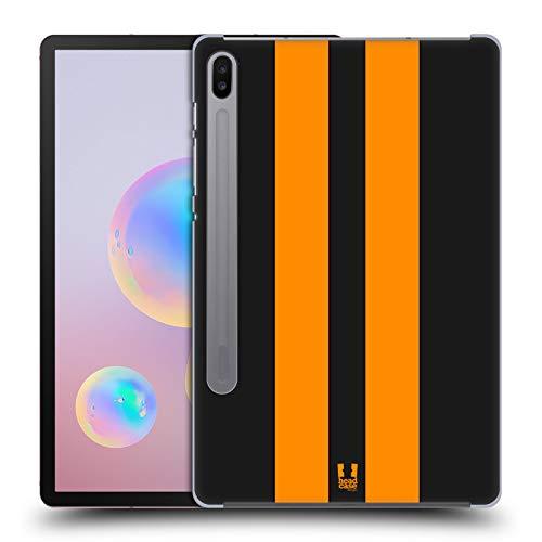 Head Case Designs Schwarzer Rennenwagen Transportmittel Farbig Harte Rueckseiten Handyhülle Hülle Huelle kompatibel mit Samsung Galaxy Tab S6 (2019)