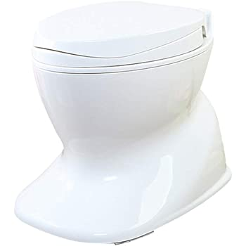 Krispich Portable Camping Toilet Loo Caravan Flush Travel Outdoor Potty Commode