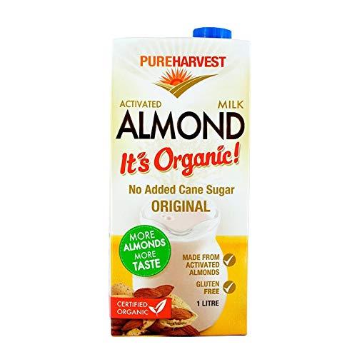 PureHarvest Organic Unsweetened Almond Milk, x, Almond