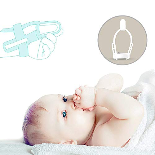 Stop Thumb Sucking Non-toxic Silicone Baby Kids Finger Guard Treatment Kit to Stop Thumb Sucking Wrist Band