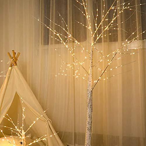 Uonlytech LED Baum Lichter LED Birke Bonsai Baum Lichter LED Desktop Licht für zu Hause Weihnachten (1pcs)