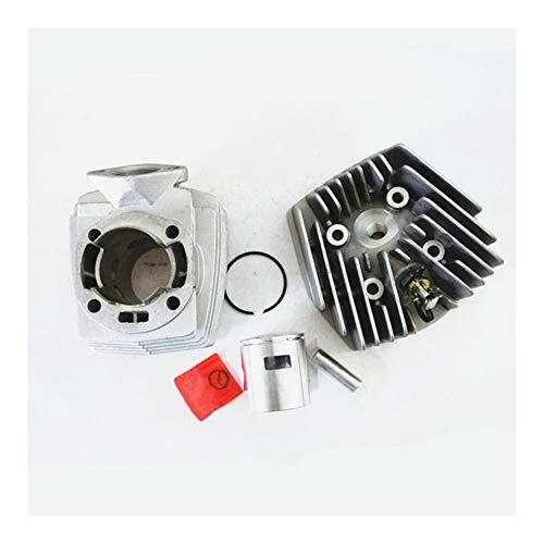 SSGLOVELIN Motorrad-Zylinder gepasst for Peugeot PGT46 65.3cc Airsal T3 103 104 105 Rcx Sp Spx New 46mm (Color : Set)