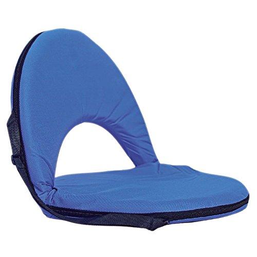 BURI Tragbares Sitzkissen mit Rückenlehne Sitzpolster Strandkissen Camping Fußball