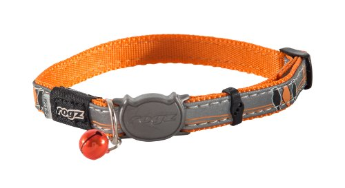Reflective Cat Collar with Removable Bell Breakaway Closure