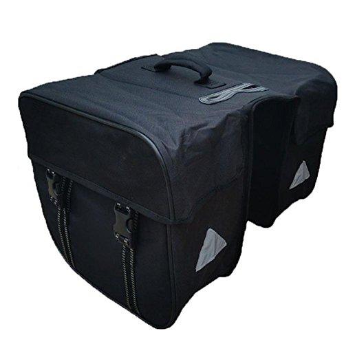 Gowind6 Bike Frame Bag,Bike Cycling Phone Holder Bag Mountain Bike Rear Rack Bag Waterproof Bicycle Carrier Luggage Pannier Bag