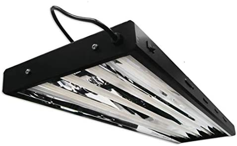Yield Lab 54w T5 Four Bulb Fluorescent Grow Light Panel 2700K Hydroponic Aeroponic Horticulture product image