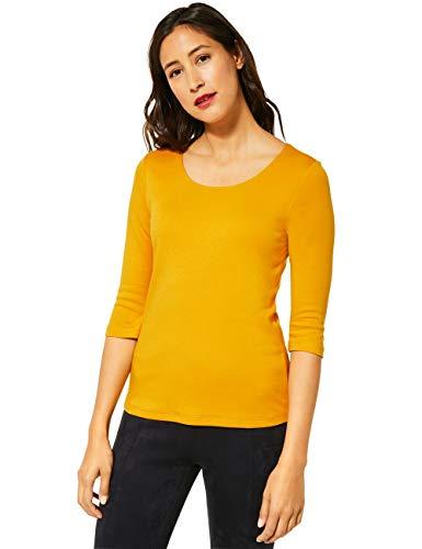 Street One Damen A313977 T-Shirt, Amber Yellow, 40