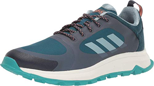 adidas Running Response Trail X Wide Trace Blue/Ash Grey/Tech Mineral 6