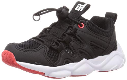[シュンソク] スニーカー 運動靴 軽量 SL 16~25cm 2E キッズ 男の子 DSS 0180 ブラック 24 cm