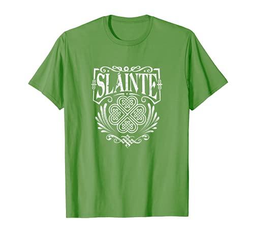 Slainte 'Cheers Good Health' from Ireland- Men Women T Shirt T-Shirt
