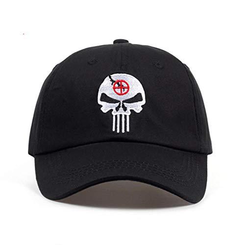 AHHMT 100% algodón Bordado Hero Punisher Gorra de béisbol tácticas Snapback Sombreros Deporte Casual al Aire Libre papá Sombrero