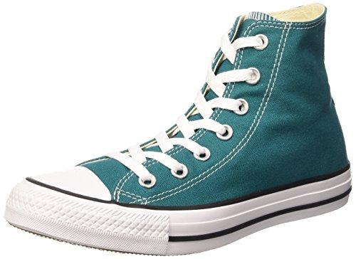 Converse Unisex-Erwachsene All Star Hi Canvas Seasonal Lauflernschuhe Sneakers, Rebel Teal, 41.5 EU
