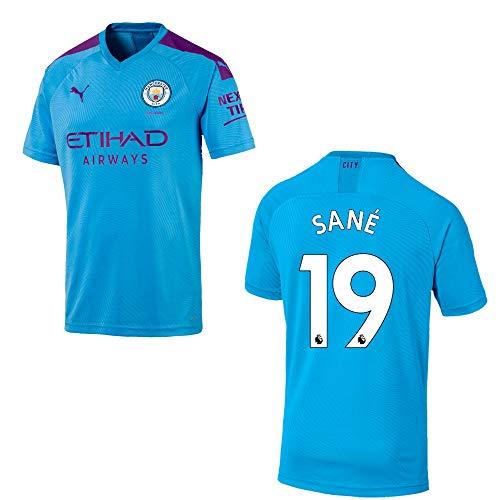 PUMA Manchester City Trikot Home Kinder 2020 - Sane 19, Größe:176