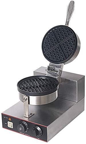 PLEASUR Maker Rotary Bügeleisen 180 ° mit Antihaftbeschichteten Kochplatten, Edelstahlform