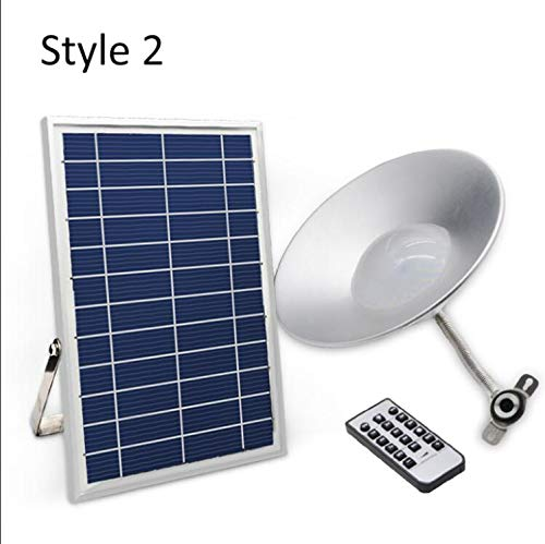 Abongone Hanglamp op zonne-energie met 36 leds voor binnen en buiten, met afstandsbediening voor het tuinhuis, patio, balkonhuis