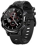 El Nuevo Buque Insignia Killer Zeblaze Thor 6 Octa Core 4GB + 64GB Android10 OS Global Band Smartwatch 4G Android Smartwatch 2021 (Black)