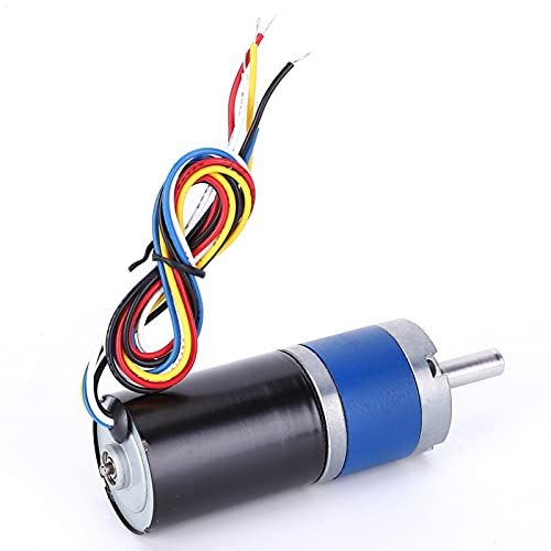 Motor sin escobillas Metal Gear DC 24V herramienta eléctrica para máquina de cuentas para máquinas de grabado para máquina pulidora(1600RPM, Pisa Leaning Tower Type)