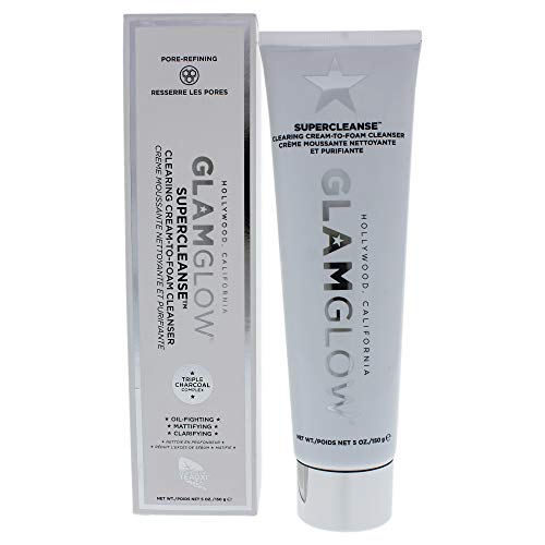 Glamglow Supercleanse Clearing Cream-to-foam Cleanser By Glamglow for Women - 5 Oz Cleanser, 5 Oz