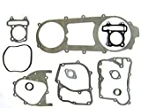 LONG CASE NEW GASKET SET GY6 150cc MOPED SCOOTER LANCE ZNEN BMS TNG JONWAY TANK ICE BEAR