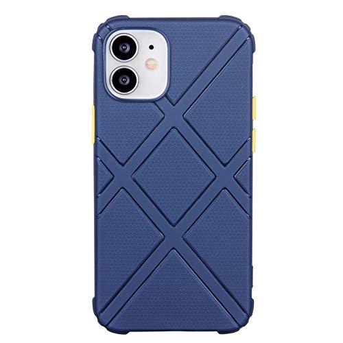 Silikon-Handyhülle für iPhone 12 Mini (5,4 Zoll) (Blau)