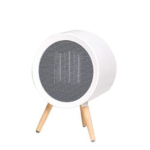 XIANGAI Calefactor Quiet Mini Calentadores de Dibujos Animados de Escritorio de cerámica del Calentador Anti-inclinación termostato Calentadores for Office Escritorio del hogar 800Welectric Fuego