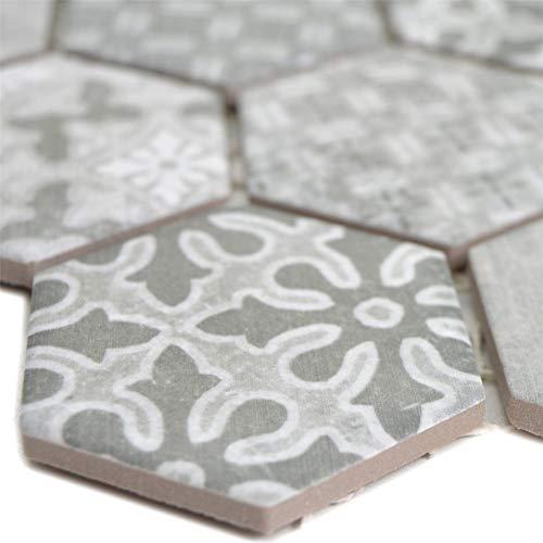 Mosaikmatte Reynosa Grau