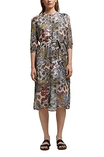 ESPRIT Damen 061EE1E304 Kleid, 473/TURQUOISE 4, 34