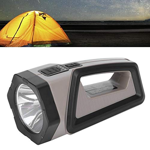 Snufeve6 Potente Linterna, Multifuncional para Acampar, montañismo, Senderismo de Emergencia