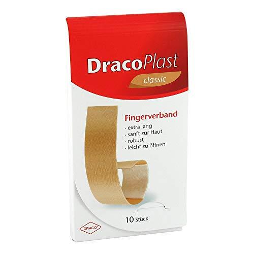DRACOPLAST Fingerstrips 2x12 cm elastic 10 St