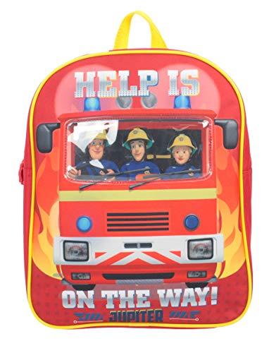 Fireman Sam Hector Children's Backpack, 30 cm, 4L, Red