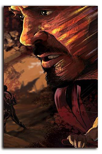 Lienzo moderno para pared, diseño de superhéroes de los vengadores, juego de hierro, hombre giclée, impresión de lienzo para decoración del hogar para decoración de pared, lona, Sin marco., 20'x28'