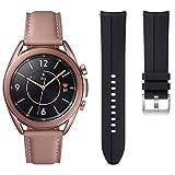 Samsung Galaxy Watch3 41mm Smartwatch with Extra Band Included, Mystic Bronze, SM-R850NZDCXAR (Renewed)