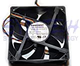 Dell OEM FOXCONN DC Brushless Fan PV123812DSPF 01 P/N NN495 120mm x 38mm, 0.90 A, 12 V, 150 CFM, 4 wire, 5-pin connector