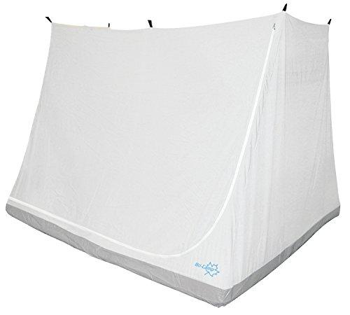 Bo-Camp Zelt, Verlängerung, für Innen grau, 135 x 200 x 175 cm