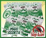 S&G group 6 Buste da 400G di Polvere TAPPETI per BATTITAPPETO Folletto Bosch Hoover IMETEC