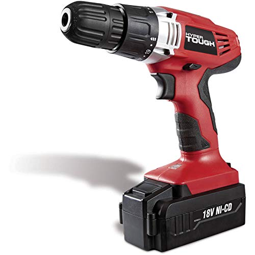 OKSLO Hyper Tough 18-Volt Ni-Cad Cordless Drill