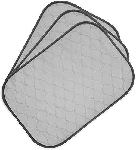 PET MAGASIN Toallitas de Entrenamiento para Mascotas, Paquete de 3, Almohadilla de Entrenamiento Lavable y Reutilizable (L)