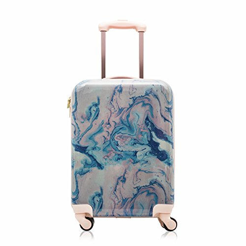 Cosmopolitan Fashion 21'(with Wheels) Flight Legal Hardcase Carry-on Suitcase (Pink)