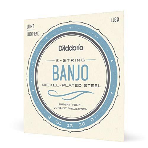 D'Addario EJ60 Nickel 5-String Banjo Strings
