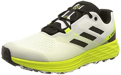 adidas Terrex Two Flow, Zapatillas de Trail Running Hombre, FTWBLA/NEGBÁS/Amasol, 44 EU